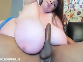 BBW Superstar Lexxxi Luxe Loves Big Black Cocks