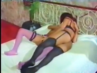 Lesbian Vintage Stockings Stockings