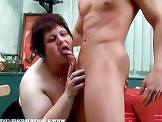 Super BBW mature fucked from behind tubes