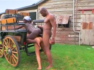 Farm Ebony Ass Blonde Interracial Ebony Ass Farm