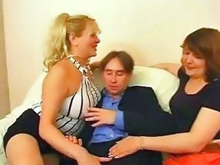 Threesome BBW Mature