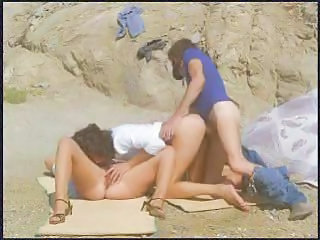 Beach Outdoor Threesome Greek Outdoor