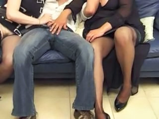 Handjob Old And Young Threesome Handjob Mature Hardcore Mature Mature Stockings