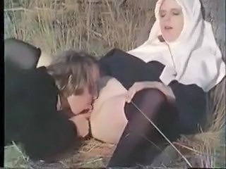 Nun Outdoor Licking Outdoor