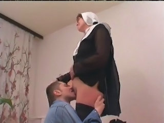Nun Licking Uniform
