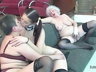 Young maid girl fucks   old timers