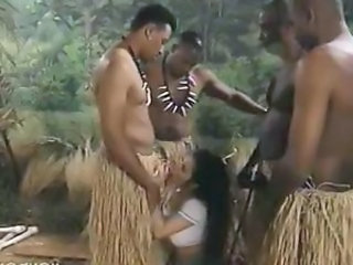 Fantasy Blowjob Interracial Outdoor
