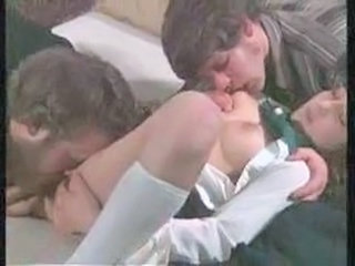 Licking Teen Threesome German German Teen German Vintage