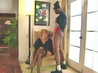 Interracial MILF Stockings Big Cock Blowjob Big Cock Milf Blonde Interracial