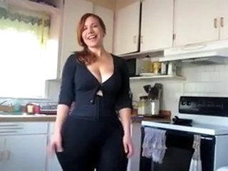 Homemade Kitchen MILF