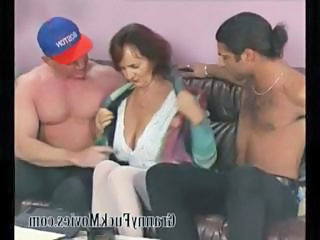 Threesome Big Tits Old And Young Big Tits Granny Young Old And Young