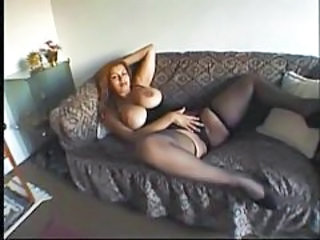 Masturbating Stockings Chubby