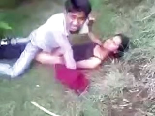 Desi Couple Caught Fucking In Park & Paid The Penalty