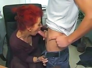 Redhead Mature Office Slut