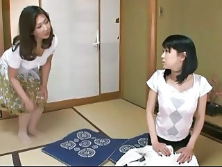 Japanese Lesbians (It was fun teaching my daughter in law)