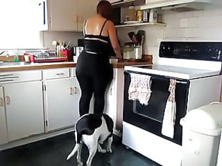 Ass Kitchen BBW