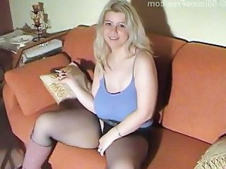Smoking Pantyhose Amateur
