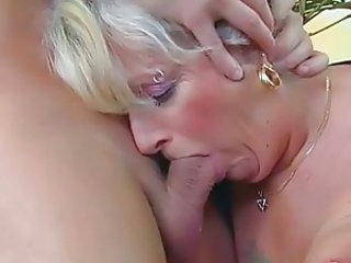 Piercing Blowjob Old And Young Granny Blonde Granny Young Old And Young