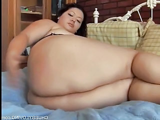 Chubby Latina With Lovely Big Tits And A Sexy Fat Ass