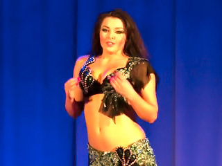 Alla Kushnir sexy Belly Dance part 15