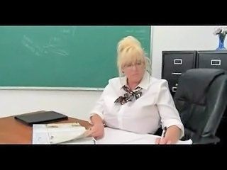 School Mature Teacher