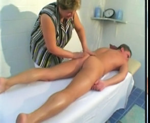 Bbw Mature Massage Action With Young Man