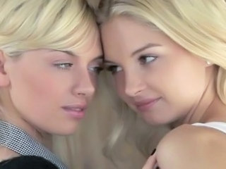 Dirty Blondes Making Lesbian Sex