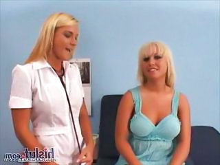 Doctor Uniform Blonde Blonde Lesbian Blonde Teen Doctor Teen