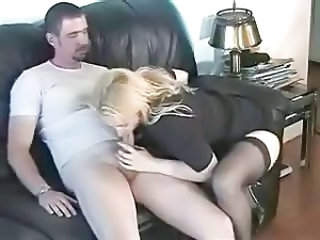 Clothed Amateur Blowjob
