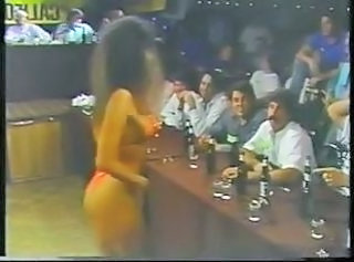 My wife dancing at my company& 039;s bikini contest