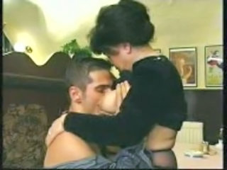 chubby old granny fucked in c...