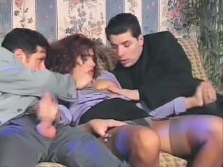 Italian Threesome Stockings Alien European Italian