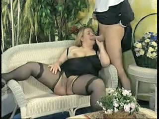 Vintage Mature Stockings