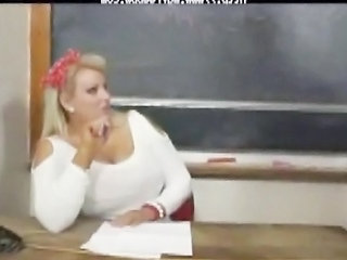School Teacher Big Tits