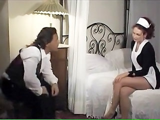 Maid MILF Uniform European Hairy Anal Hairy Milf