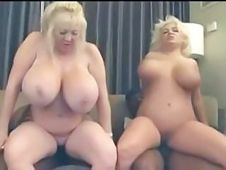 Two Black Studs Violate Two Blonds With Big Tits