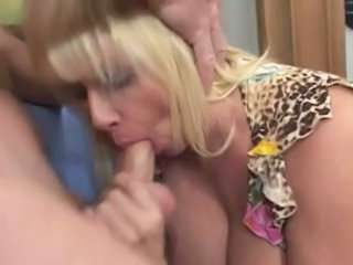 Blonde Blowjob Granny Blonde Granny Busty