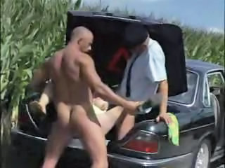 Farm Car Outdoor Farm Granny Sex Granny Young
