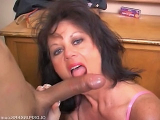 woman blowjobs Mature big cock