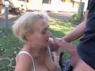 Public Outdoor Big Cock Big Cock Blowjob Blowjob Big Cock Granny Cock