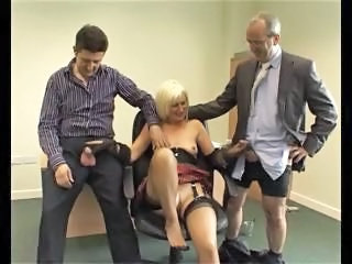 Older Threesome British British British Mature European