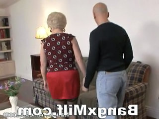 Mature blonde lady fucked hot