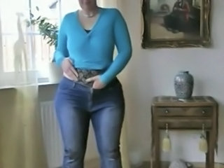 Jeans Stripper Mature