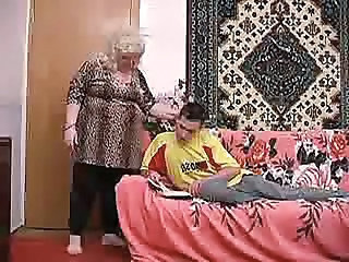 German granny with wig - Mature sex video -