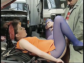 Pantyhose Clothed Car Clothed Fuck Milf Ass Milf Pantyhose