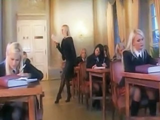 Schoolgirl gets fuckes as punishment (anal)