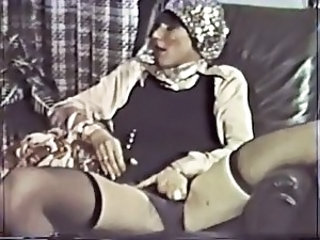 Masturbating Stockings Vintage Stockings