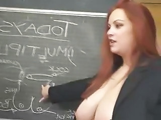 School BBW Big Tits