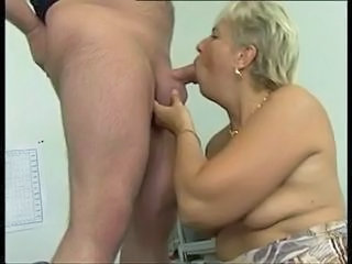 Mature German European Blowjob Mature Chunky European