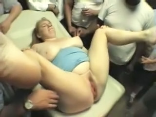 Gangbang Interracial BBW